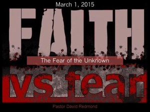 3 Fear of the Unknown