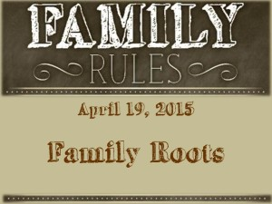 2 Family Roots