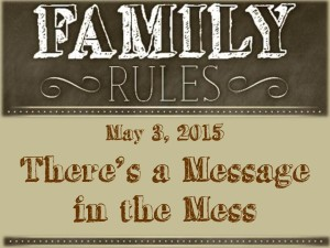 4 - There's a Message in the Mess
