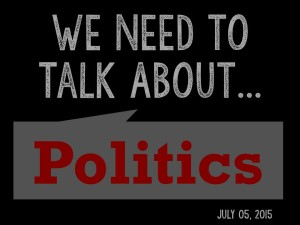 We Need to Talk 2 - About Politics1