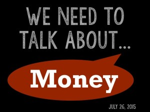 We Need to Talk 5 - About Money