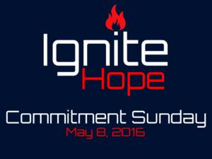 05-08-16 Commitment Sunday